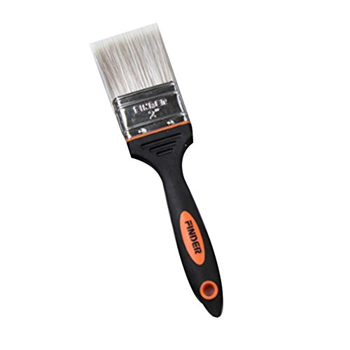 Flacher Pinsel für Malerpinsel, Kreidepinsel, Wachsmalpinsel, Lackstift, Pinsel für Schablone, Reinigungsbürste (2 Inch)