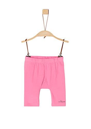 s.Oliver Baby-Mädchen 59.906.75.5015 Shorts, Rosa (Pink 4418), (Herstellergröße: 80/REG)