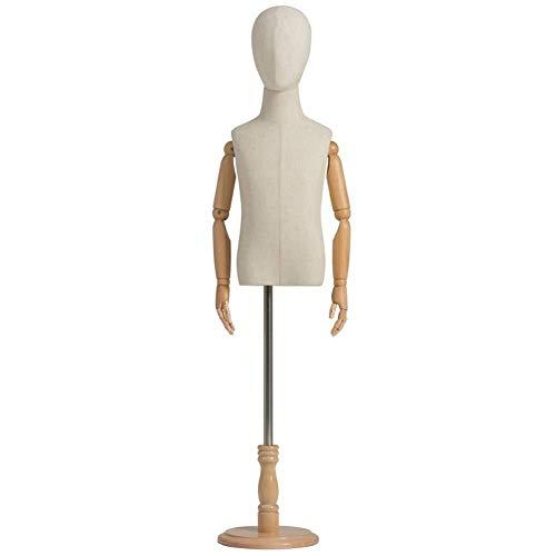Maniquíes de costura Niño sastres maniquí maniquíes Completa del Cuerpo del niño maniquí modistas Sastres Busto Display maniquí sastres Adjustable (Color : D, Size : X-Large)