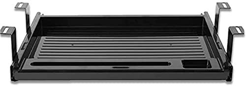 Estensore della Tastiera Piattaforma della Tastiera sotto la scrivania Cassetto per Tastiera e Mouse Vassoio per Tastiera attaccabile Supporto ergonomici...