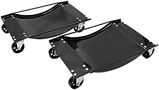ホイールカードーリー 2個セット 積載合計900kg タイヤドーリー オートドーリー 鉄車輪 自動車整備 メンテナンス 工具 HD-1N
