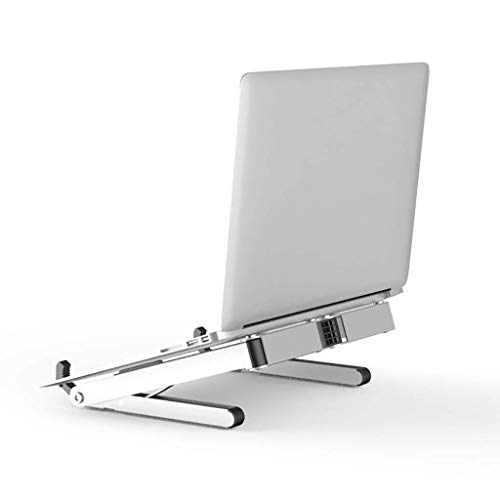 BINGFANG-W Portable Vertical Laptop Tablet Stand Holder - Ergonomic Tray Holder Mount Adjustable Multi-Angle Stand Ventilated Aluminum Phone Holder Light Weight Foldable Screen Riser Small