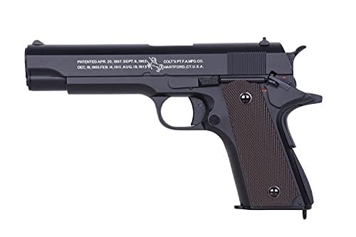 AS24 Colt 1911 AEP <0,5 Joule inkl. Akku + Ladegerät Metall Schlitten Airsoft Pistole