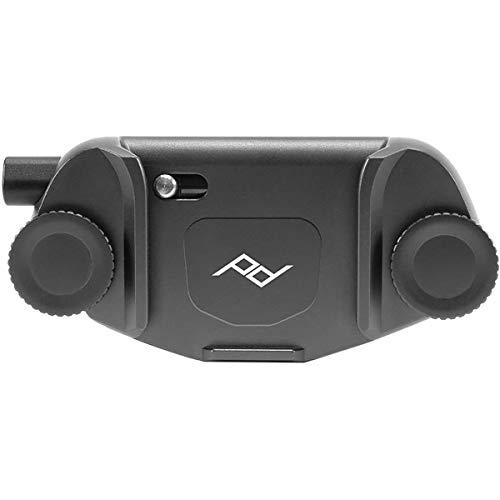Peak Design Capture Clip v3 Black - Kameraclip zum Tragen von DSLR-/DSLM-Kameras an Gurten oder Gürteln (Kameraplatten sind separat erhältlich)
