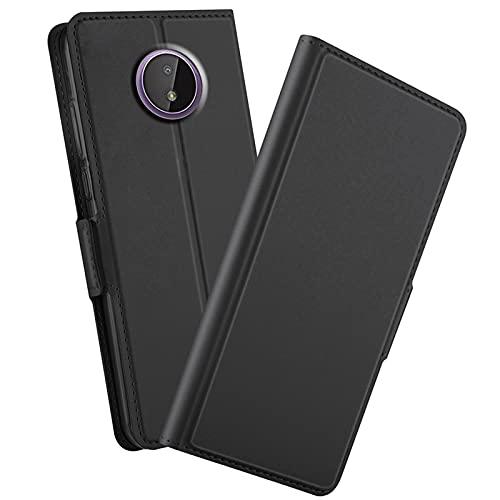 GIOPUEY Funda para Nokia C20/Nokia C10, Función de Soporte Leather Case, Protección...