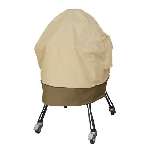 Preisvergleich Produktbild Classic Accessories Veranda Haltbare Abdeckung und Schutzhülle für Kamado Keramik-Gartengrill L