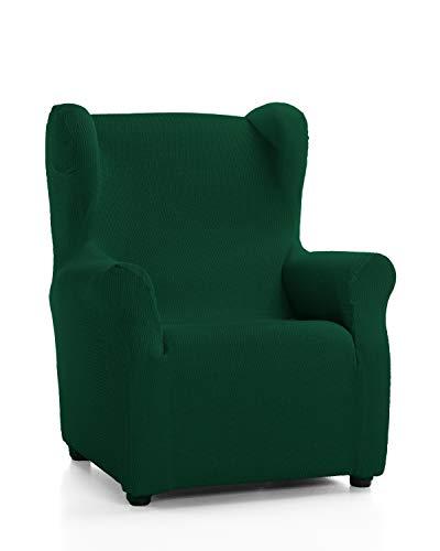 Martina Home Tunez Sesselbezug Ohrensessel Ohrensessel Flaschengrün (Verde Botella)