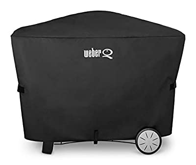 Weber 7112 Q 2000 and 3000 Series Grill Cover, 56.6 x 22 x 39.3 Inches, Assorted