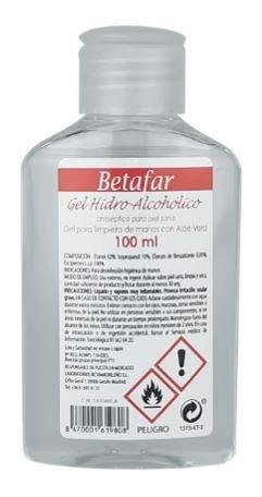 GEL HIDROALCOHOLICO BETAFAR CORONAVIRUS 100 ML