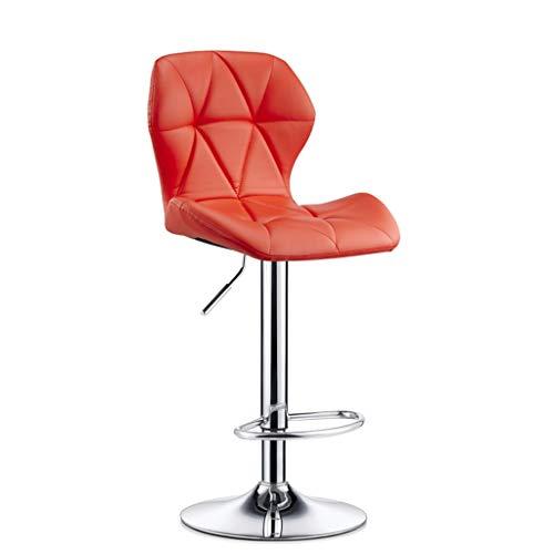 XXT barkruk, barkruk, modieus, barkruk, creatief, hoge stoel 60cm*80cm Rood