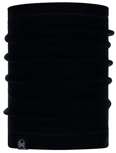 Buff NECKWARMER Polar Basic Halswärmer + Ultrapower Schlauchtuch | Schal | Wintermütze | Nackenwärmer | Polartec Neckwarmer Polar - Solid Black - 120931.999.10.00