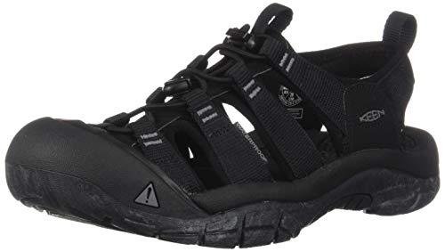 KEEN Herren Newport H2 Aqua Schuhe, Mehrfarbig (Black/Swirl Outsole 1020285), 44 EU