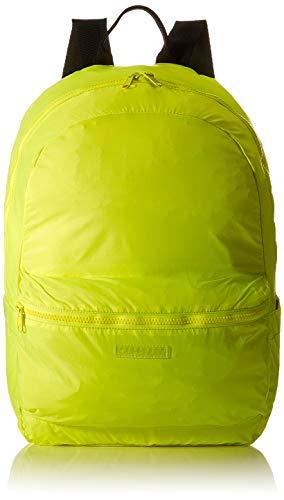Superdry Damen Pack Away Bag Rucksackhandtasche Gelb (Neon Yellow)