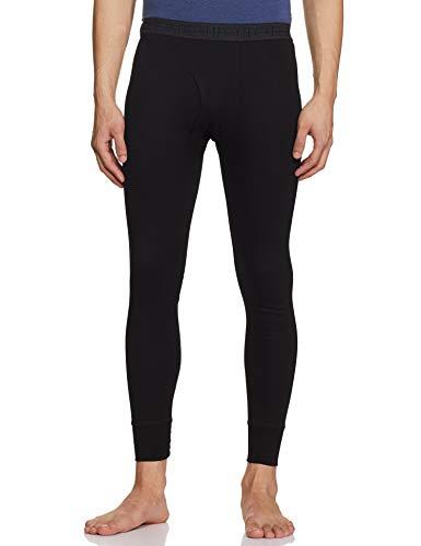 Rupa Plain Thermal Bottom (Torrido Men's Trouser 5501_Black_90)