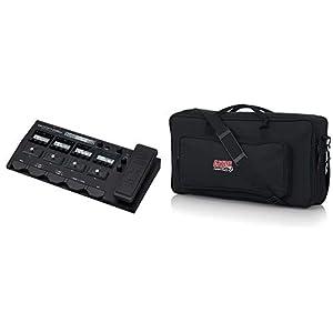Zoom – G5n/IFS – pedaliera multieffetto, amp-simulator, interfaccia audio – pedaliera per basso plus borsa per tastiera