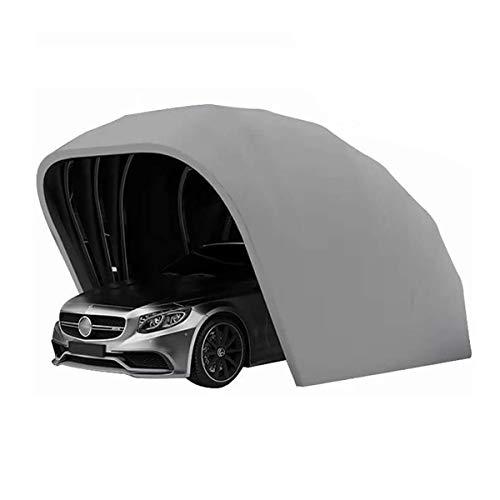 SOHOH Hochleistungs-Carport, Mobiles Garagen-Autozelt Tragbarer Beweglicher Carport Faltbarer Outdoor-Hochleistungs-Stahlrahmen-Carport Langlebiger Unterstand