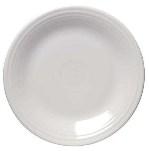 Fiesta 10-1/2-Inch Dinner Plate, White