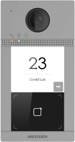 Hikvision DS-KV8113-WME1 - Intercomunicador de vídeo con cámara HD de 2 MP