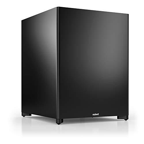 Nubert nuSub XW-900 Subwoofer | Lautsprecher für Bass & Effekte | Surround & Action auf höchstem Niveau | Downfiresubwoofer mit Aktiv-Technik | LFE-Box mit 380 Watt | Subwoofer Schwarz