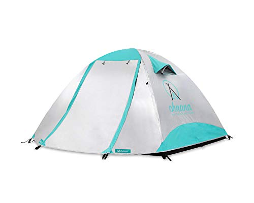 Ohnana Cool 2-Person, Heat-Blocking Rayve II Tent. Perfect for Festivals, Backpacking, as Well as Beach and Family Camping