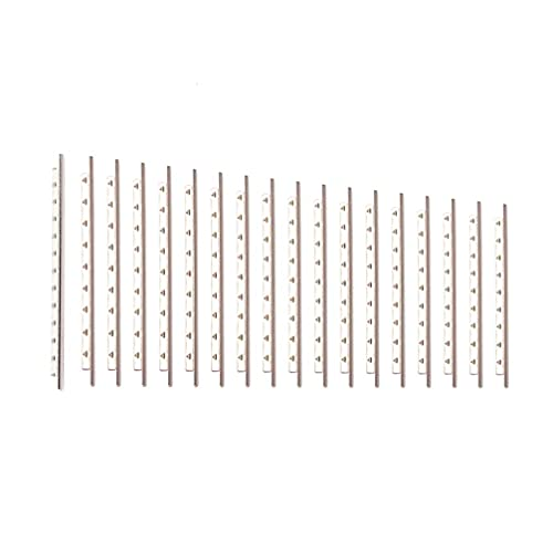 LIXBD Bunddraht für Akustikgitarre, Nickel, Kupfer, Cupronickel, Bünde für Akustikgitarre, Bass, Zubehör, 2,0 mm (Farbe: Stil 1), 21 Stück