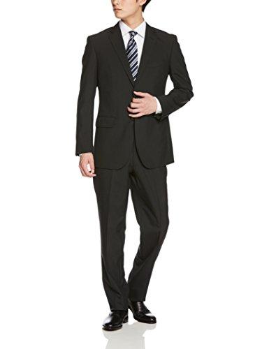 [ハルヤマ] HARUYAMA メンズスーツ 安心価格 折り目が消えにくいプリーツ加工 丈夫な素材で毎日着ても型崩れしにくい 長く着られるオールシーズン対応 〈 ビジネス 就活 結婚式 入学式 卒業式にも大活躍 〉 M101180002