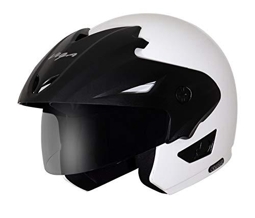Vega Cruiser CR-W/P-W-M Open Face Helmet (White, M)