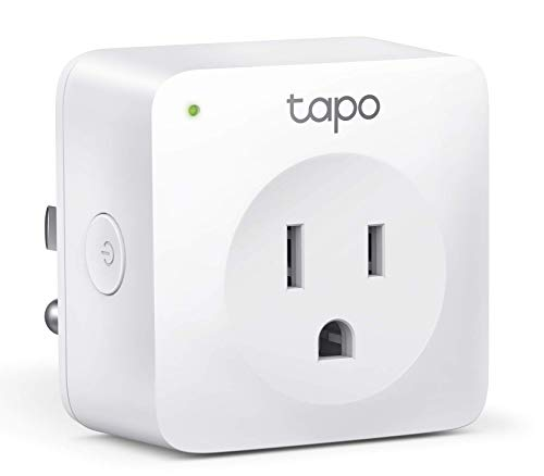 TP-Link Tapo Smart Plug Mini, Smart Home Wifi Outlet Works with Alexa Echo & Google Home, No Hub Required, Remote Control Your Home Appliances from Anywhere, New Tapo APP Needed (P100)