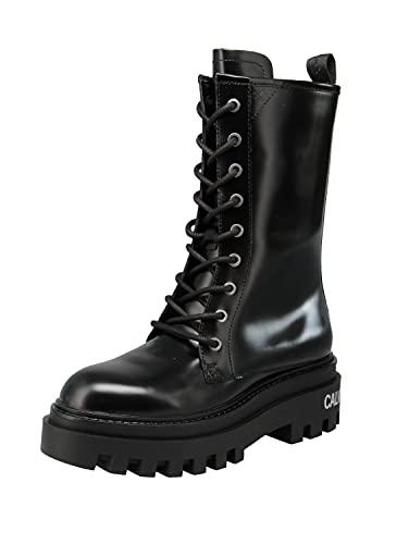 Calvin Klein YW0YW00390 - Damen Schuhe Stiefel - BEH, Größe:37 EU