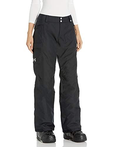 Under Armour Outerwear Women's Standard UA CGI Chutes Ins Pants, Black (001)/Glacier Gray, X-Small