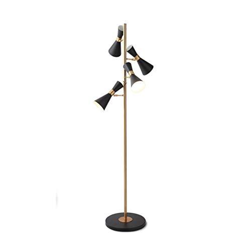 QTDH Designer Lettura Lamp voor Vivere Camere Moderne, Mid Century Energy Saving Nachtkastje Modern Standing Floor Lamp