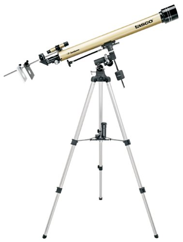 Tasco Luminova 60 x 900 mm Refractor Telescoop, 40060675, Ideaal voor Amateur Astronomen, Goud