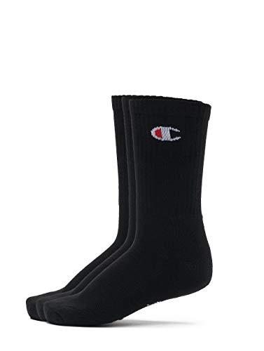 Champion Socks 3 Pack Black 39-42