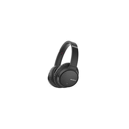 Sony WH-CH700N Wireless Bluetooth Noise Cancelling Headphones with 35 Hours Battery Life, Passive Operation, Headset with mic for Phone Calls with Alexa – (Black)