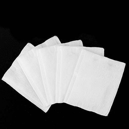 Toallita limpiadora Desmaquillante Algodón Cuidado práctico de la piel para viajes Uso para desmaquillar para rutina(150 pieces of sandwich cotton)