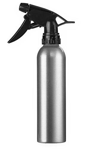 Eurostil Wasser Sprühflasche Aluminium 280 ml Zerstäuber Friseur Sprayer