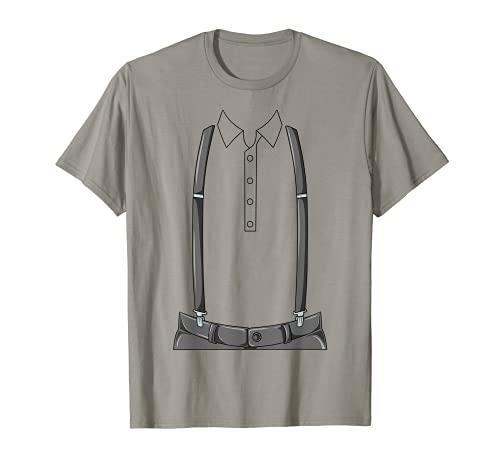 Easy Amish Disfraz Amish Body sin cabeza Amish Disfraz Camiseta