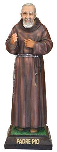 Generico Statua San Padre pio cm. 40 in Resina