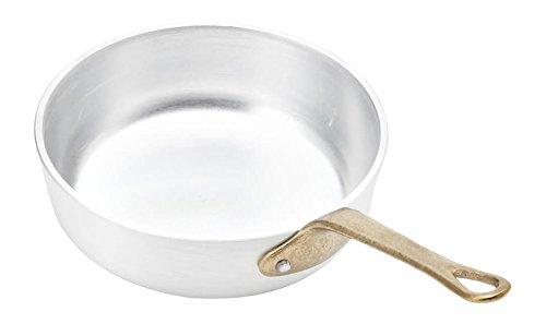 Italo Ottinetti 477612 OTTINETTI Tegame 1 Manico Piccole Alluminio Cm12 Pentole e Preparazione Cucina