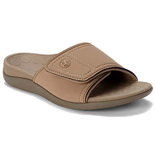 Vionic Includes Orthaheel Technology Unisex Kiwi Sandals Includes Bonus Plantar Fasciitis Foot...