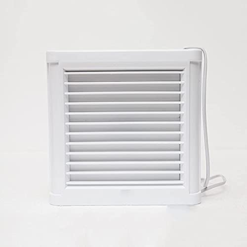 Extractor de baño silencioso Impermeable de 4/6 Pulgadas Ventilador de Escape Ventilador Fuerte para Ventiladores de ventilación de Ventana de Inodoro de Cocina (tamaño: 6 Pulgadas)