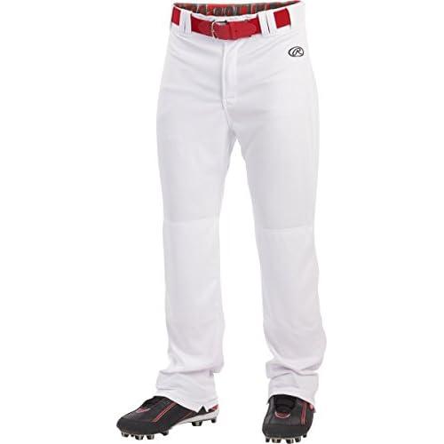 White 1452A L Augusta Sportswear Mens Series Knee Length Baseball Pant