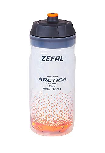 ZÉFAL Artica Bidón Isothermo Arctica 55 Plata/Naranja, 550ml, Unisex Adulto, 550 ml