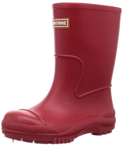 [アキレス] レインブーツ 長靴 軽量 日本製 14cm~21cm 2E キッズ 男の子 女の子 SCB 1070 レッド 21.0 cm