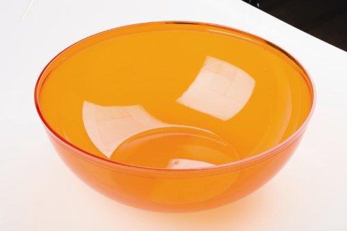 saladier plastique 3.5l, couleur orange