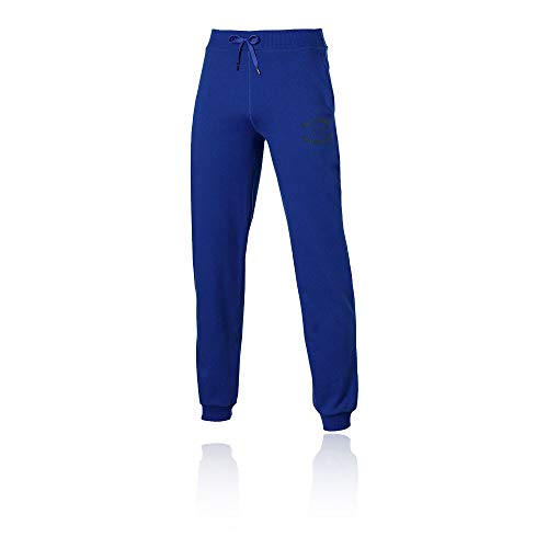 ASICS Graphic Cuffed Tracksuit Bottoms - Large Blu
