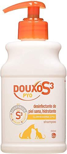 CEVA DOUXO S3 PYO CHAMPU 200ml, Negro, 200 ml (Paquete de 1)