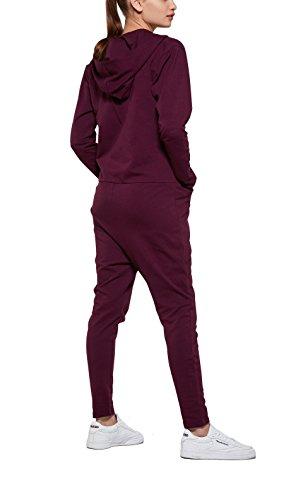 OnePiece Damen UNO Jumpsuit, Violett (Burgundy), 40 (Herstellergröße: L) - 2