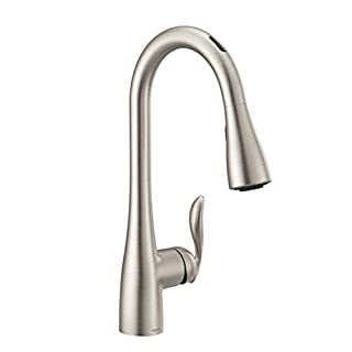 Moen 7594EVSRS Arbor U by Moen Smart Pulldown Kitchen Faucet with Voice Control and MotionSense, Spot Resist Stainless (B083XMC89X) | Amazon price tracker / tracking, Amazon price history charts, Amazon price watches, Amazon price drop alerts