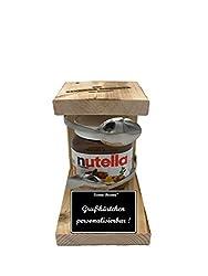 """"""" Personalisierbar """" Die Eiserne Reserve ® Löffel mit Nutella 450g Glas - lustige Geschenk - Die Nutella - Geschenkidee"""